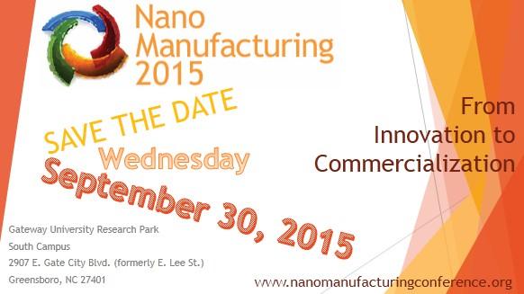 Nano Manufacturing 2015